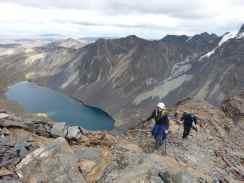 Condoriri trailhead Bolivia
