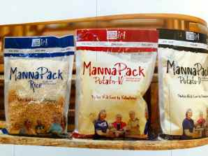 FMSC offers three products: MannaPack Rice, MannaPack Potato-D and MannPack Potato W.