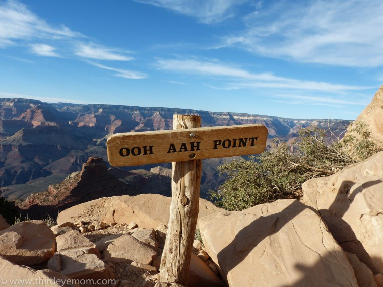 South Kaibab trail Grand Canyon Arizona