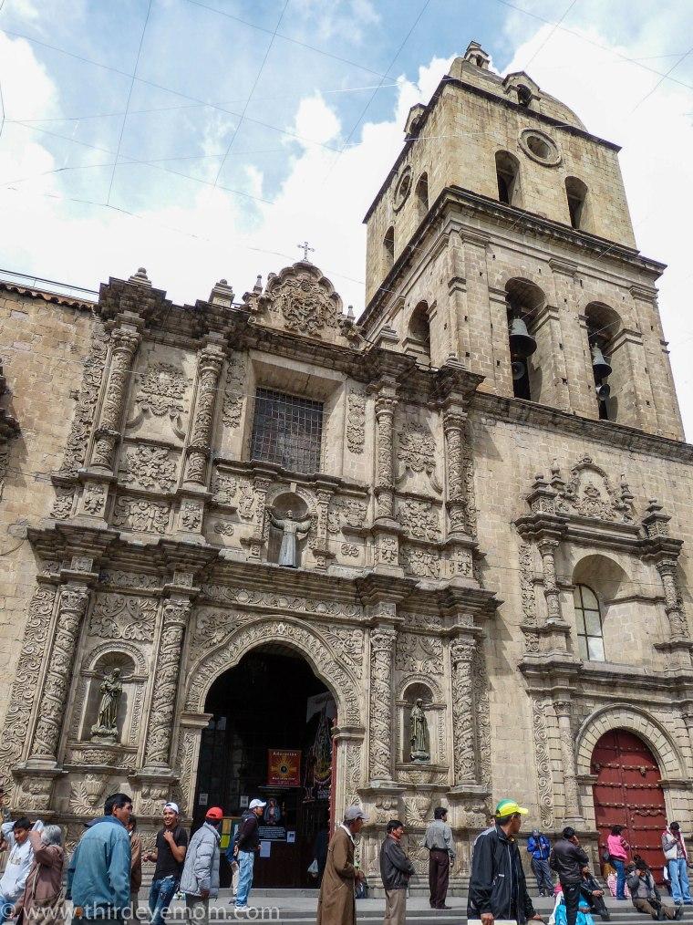 Iglesia de San Francisco La Paz Bolivia