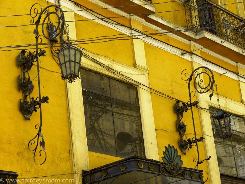 Colorful Building in La Paz, Bolivia