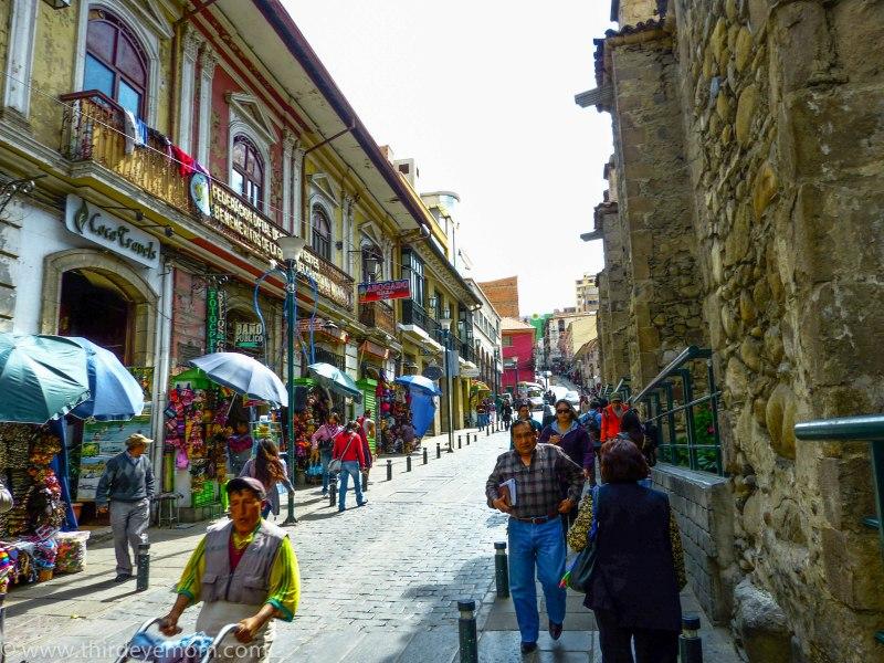 Street photography La Paz Bolivia