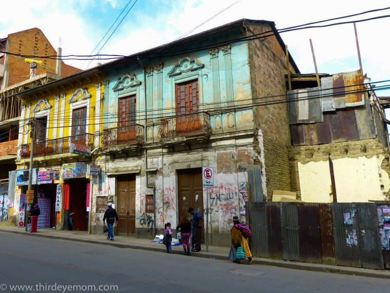 La Paz Bolivia buildings