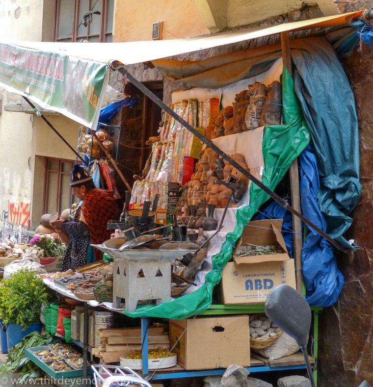 Witches' Market La Paz Bolivia