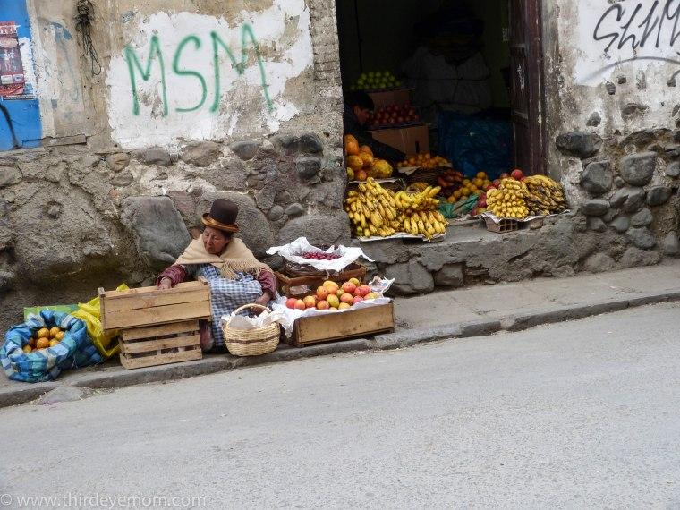 Aymara Women La Paz Bolivia