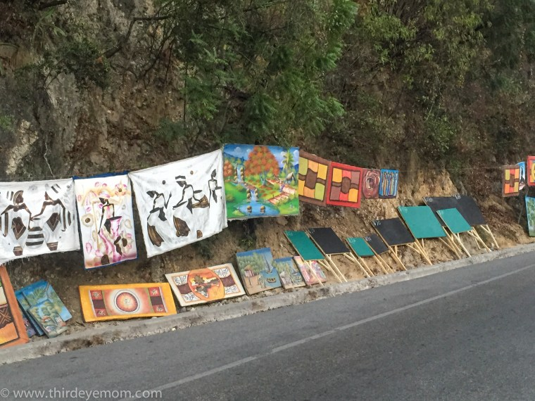 Art in Port-au-Prince Haiti