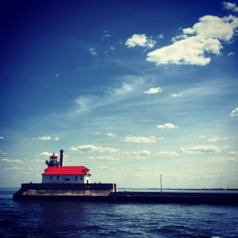 Lighthouse at Duluth Harbor MN