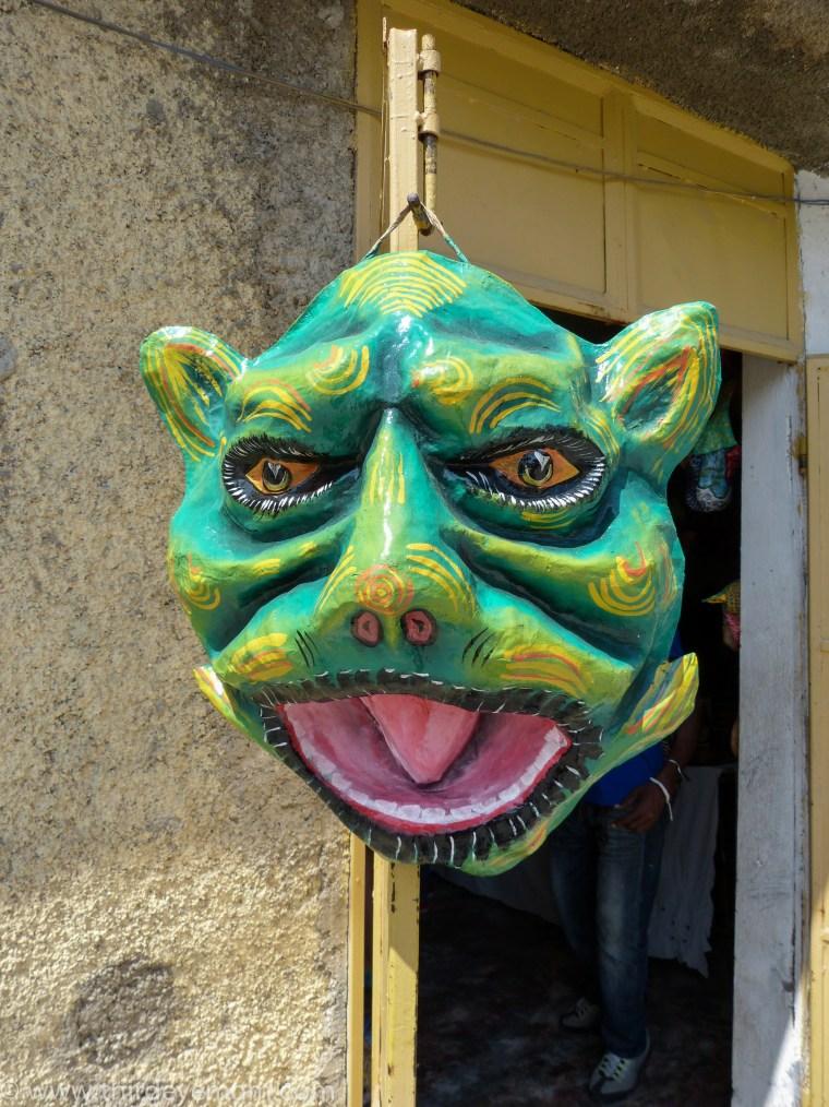 papier-mâché artisans Jacmel Haiti