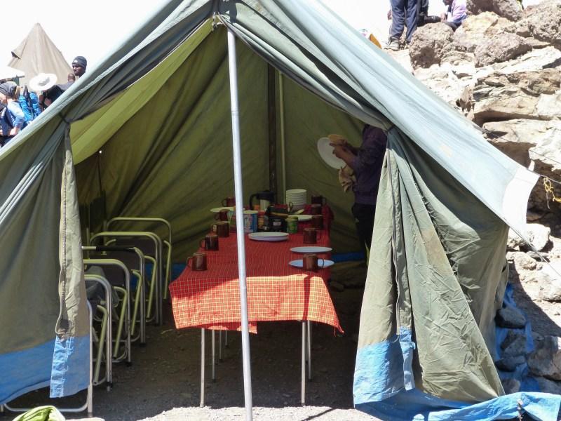 Barafu Hut Machame Route Kilimanjaro