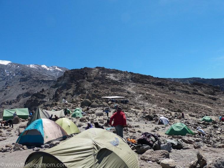 Kosovo Camp Machame Route Kilimnajaro