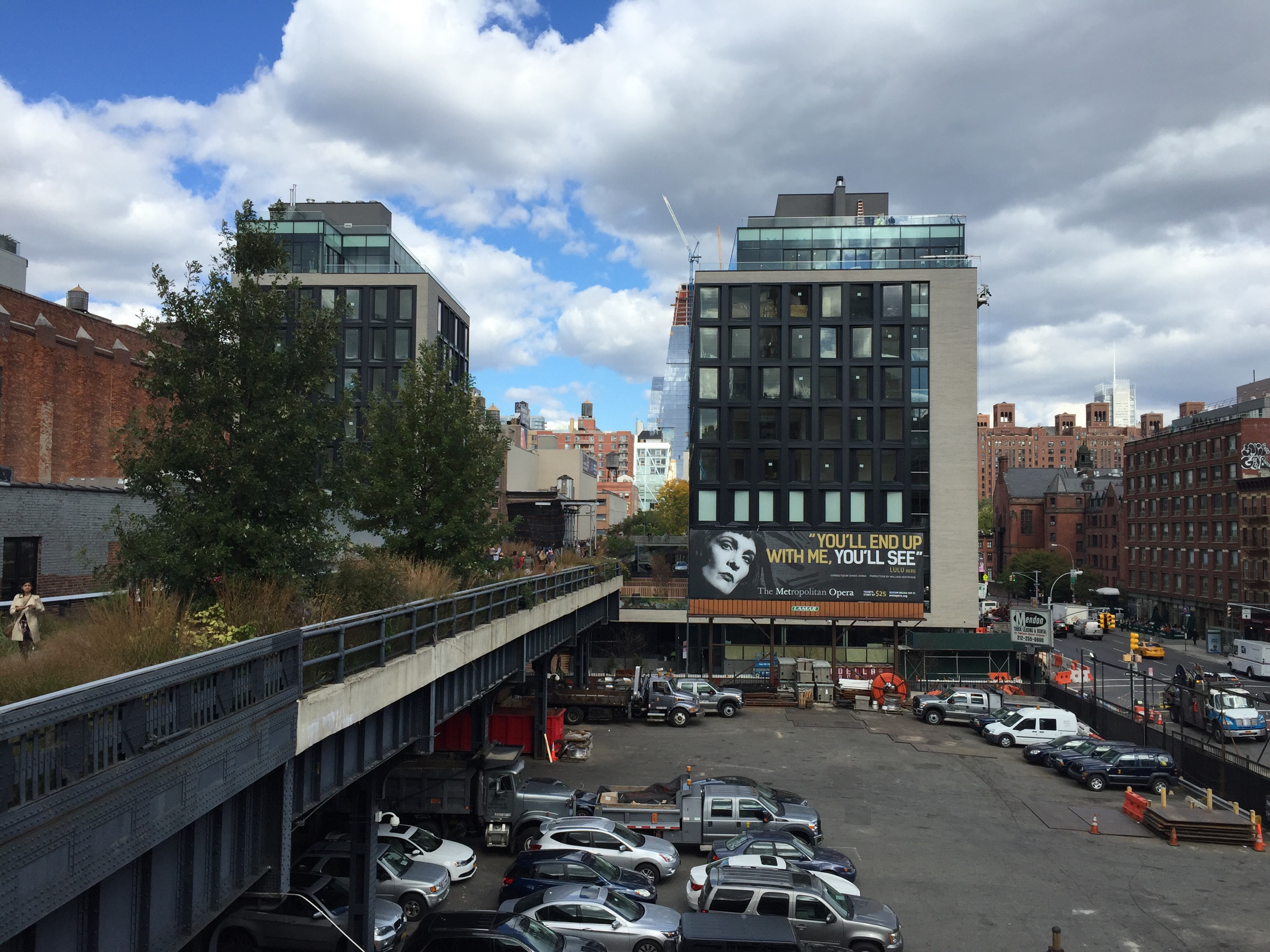 High Line Trail, NYC