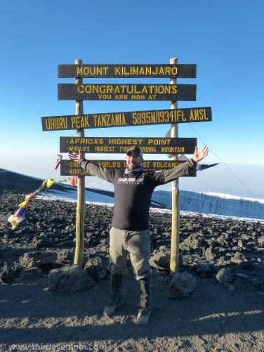 Uhuru Peak, Mount Kilimanjaro, SolarSisterSummit