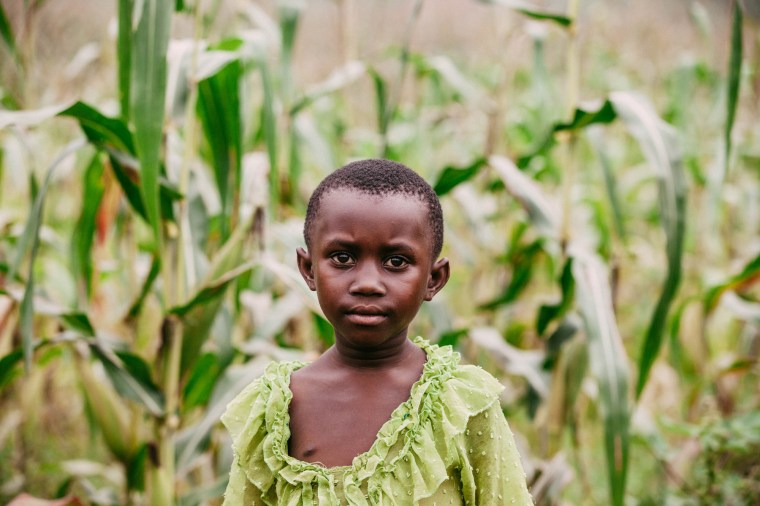 A young girl in Rwanda. Photo by Arielle Lozada