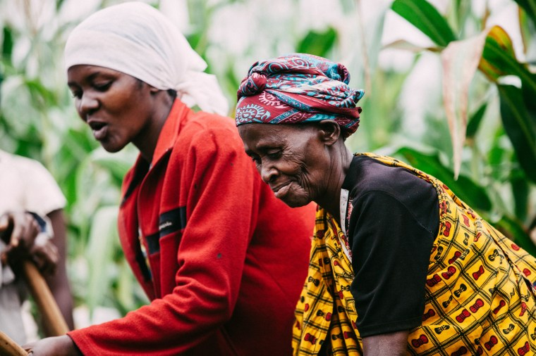 Women farmers in Rwanda. Photo by Arnelle Lozada