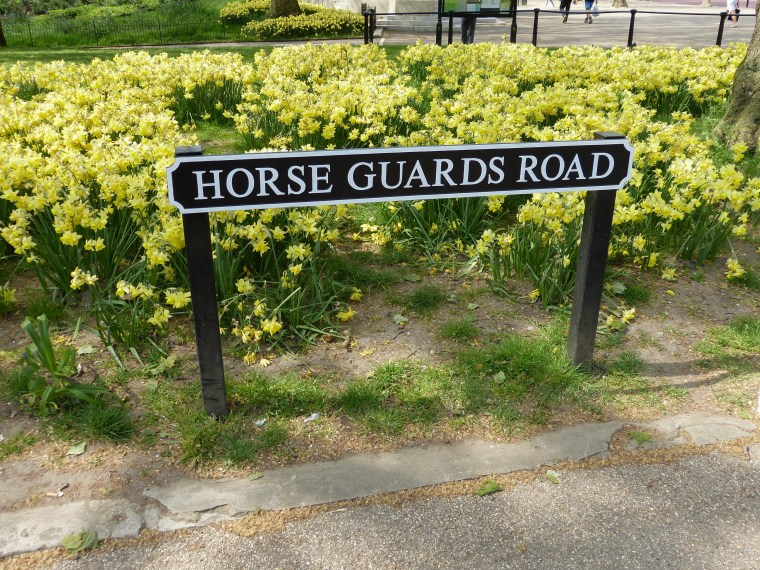 Horse Guard Road, London England