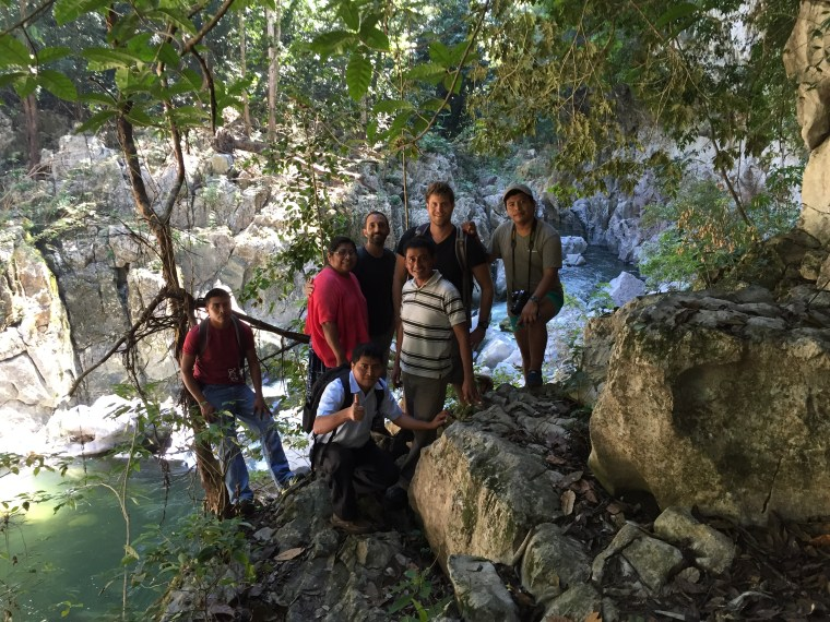 Lokal Co-Founder Eytan Elterman visting the Seacacar community tourism project in Guatemala. Seacacar offers tubing through the El Boqueron river as well as hiking and overnight accommodations at the local ecolodge.