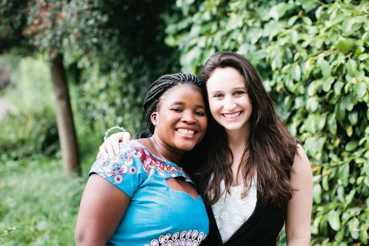 Percina and Elisabetta. Photo credit: Nicole Anderson of Sorella Muse Photography