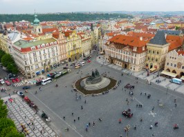 View from Bell Tower, Prague