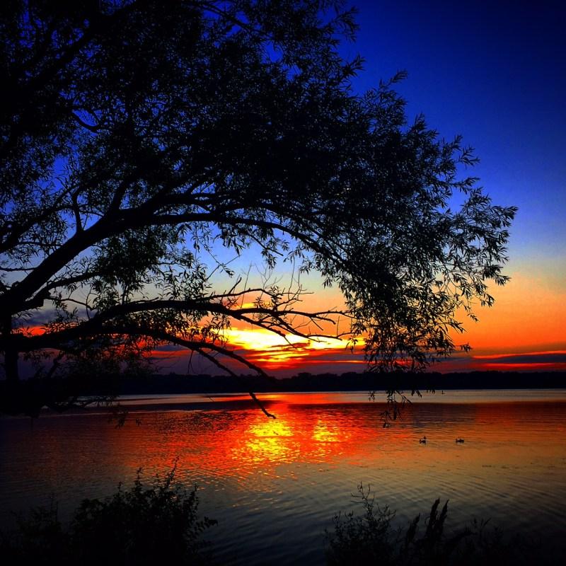 Sunset on Lake Harriet, Minneapolis MN