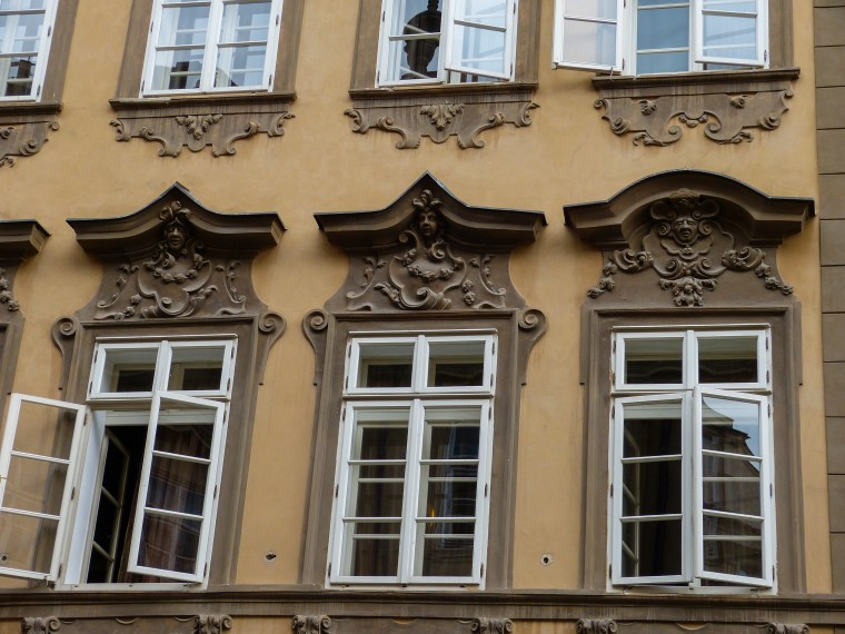 Prague Decorative Windows
