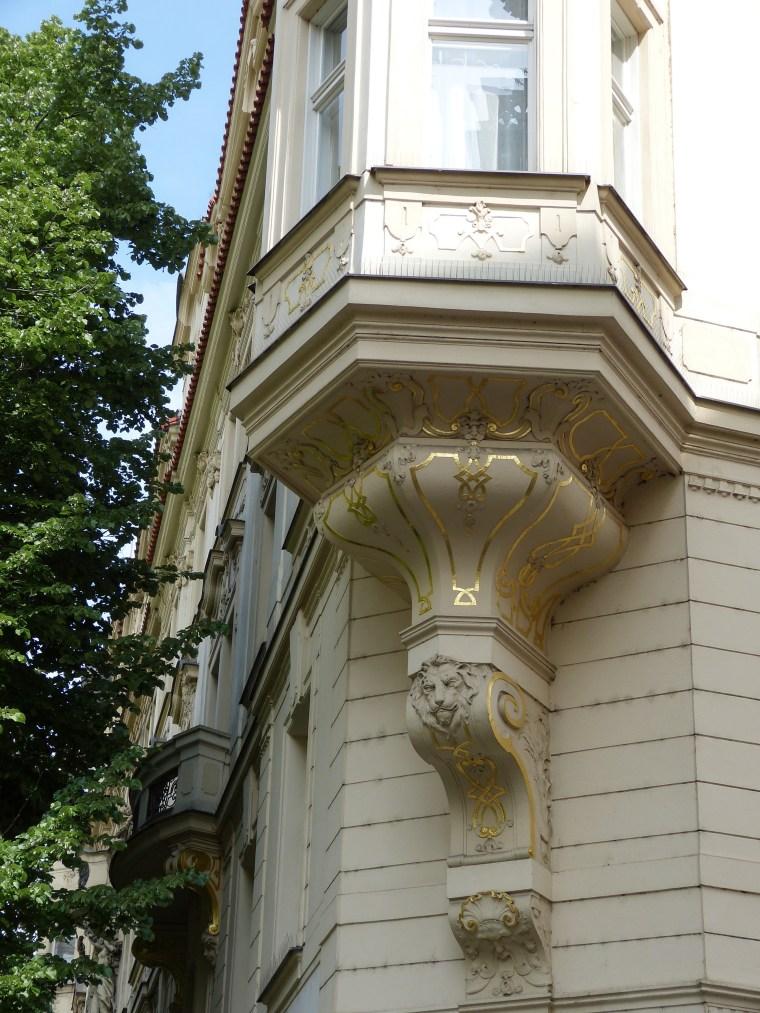 Decorative Buildings Prague