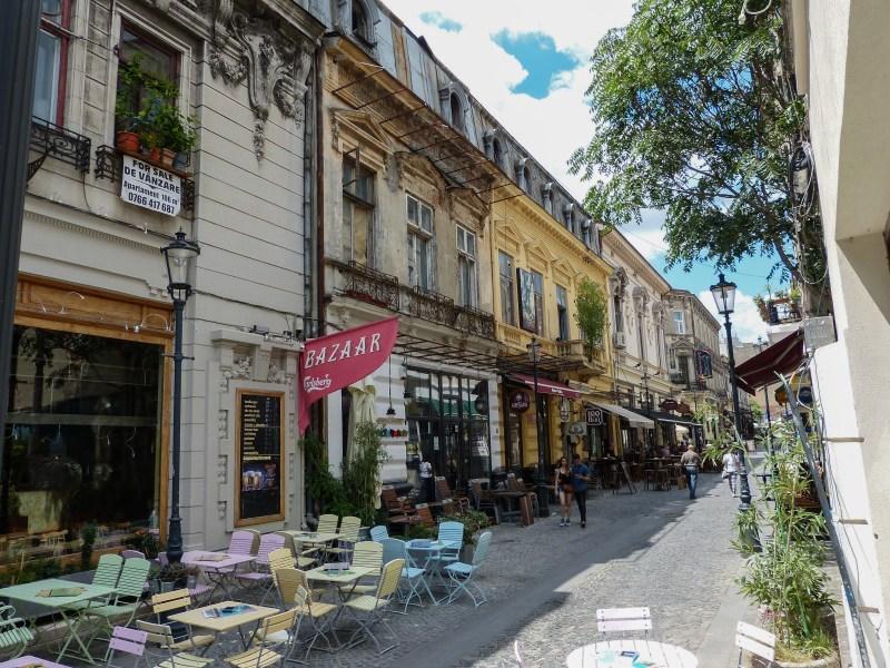 Old Town Bucharest, Romania