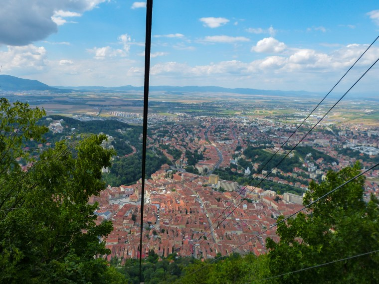 Mount Tampa Cable Car, Brasov Romania