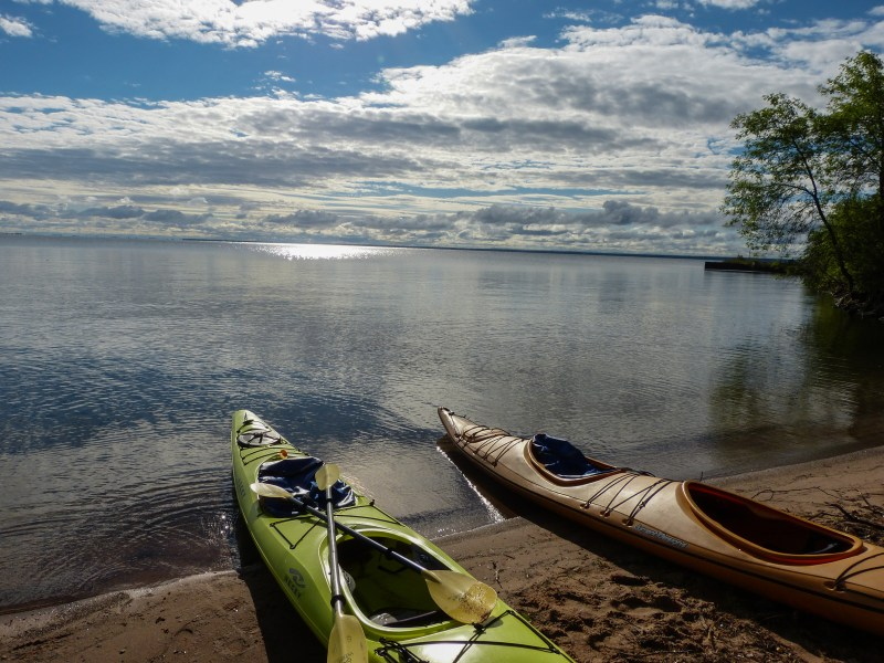 Sea Kayaking in Lake Superior