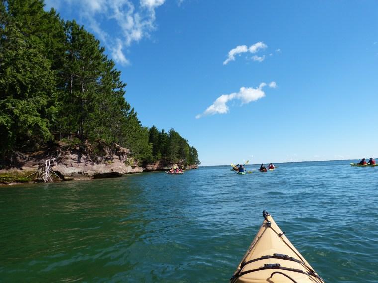 Sea Kayaking in Lake Superior