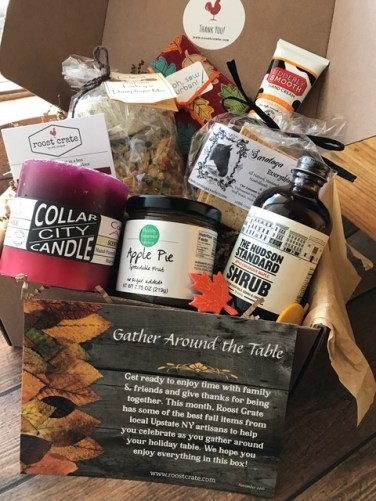 Sample of November Box