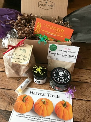 Sample of October Box