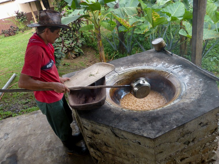 Traditional Sugar Cane Milling in Costa Rica