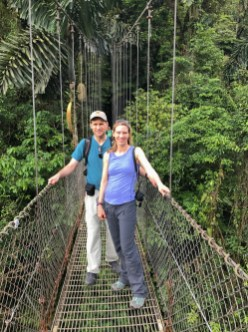 Mistical Hanging Bridges Park, Arenal, Costa Rica