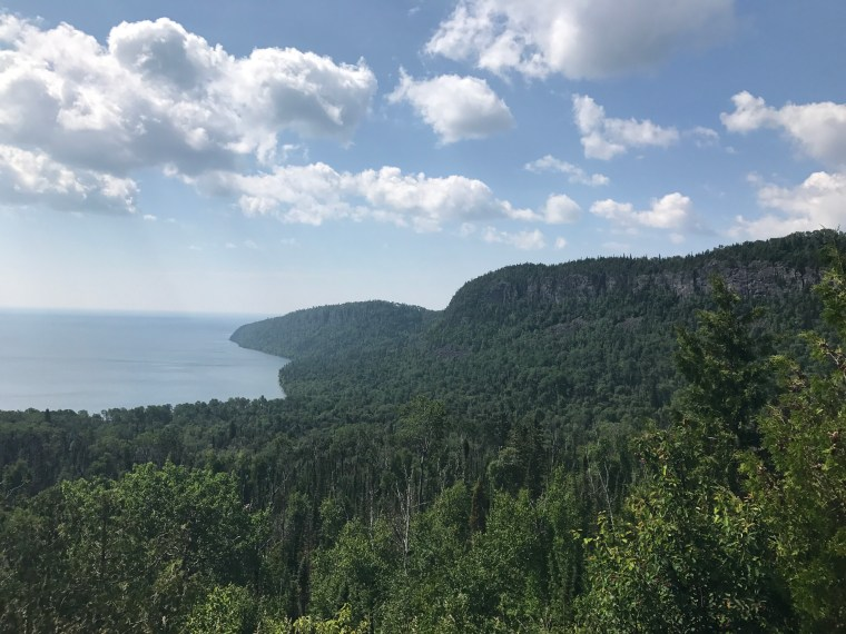 The Susie Islands Overlook, Minnesota