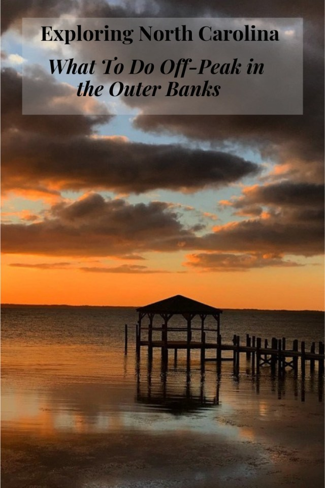 The Outer Banks, a 130 mile stretch of barrier islands off the coast of North Carolina is perhaps best known for its endless beaches and luxurious vacation homes for rent for those craving a beach vacation in the heat of the summer. However, there are many other amazing things to do in the Outer Banks when you visit off peak and best of all, the hordes of crowds have long gone home.
