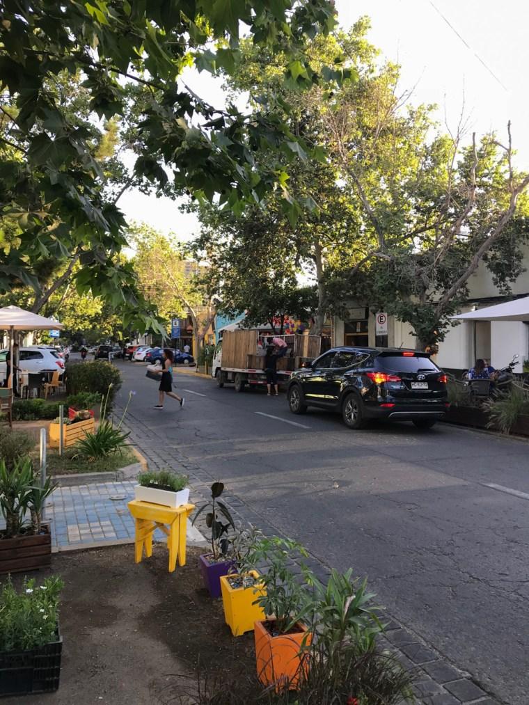 Barrio Italia, Santiago