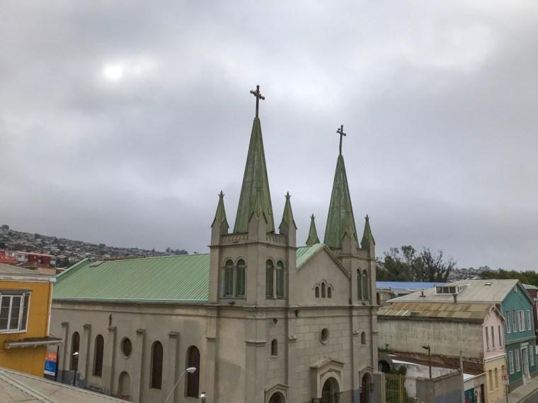 San Luis Church, Cerro Alegre, Valparaiso, Chile