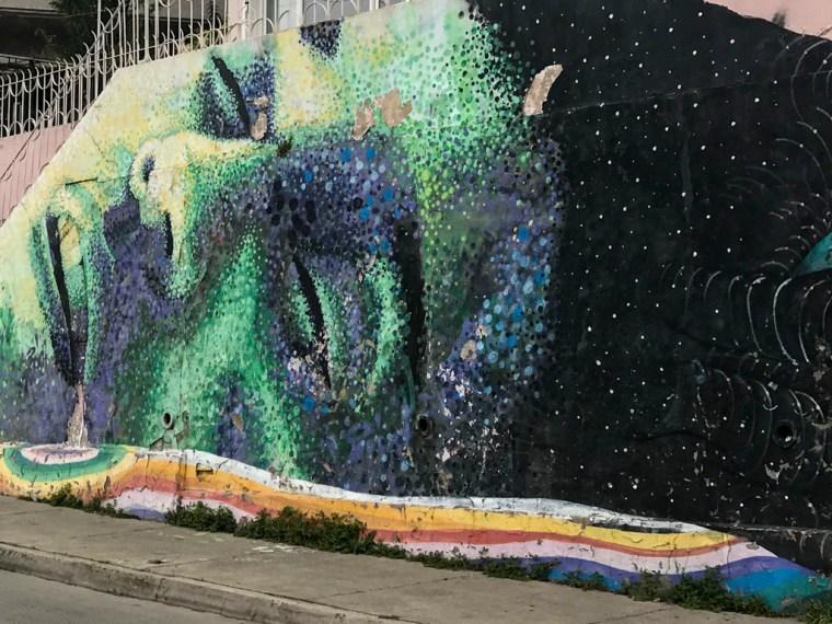 Street Art, Valparaiso, Chile