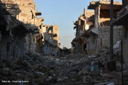 The destruction of Aleppo. Photo credit: SOS Children's Villages