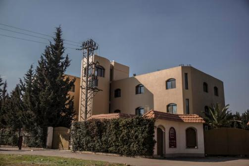 """Scenes from soon to be opened SOS children's village in Damascus, Syria, March 6, 2017. The village is a former hotel called """"Hacienda""""."""