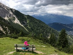 High above Seefeld in Tirol