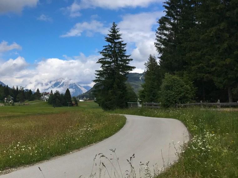 Hiking in Seefeld in Tirol, Austria