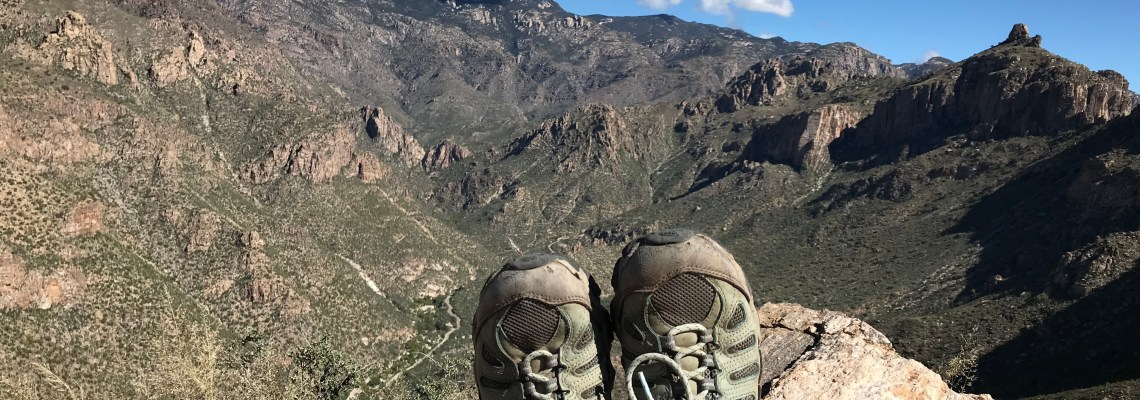 Blackett's Ridge Hike, Sabino Canyon, Tucson, Arizona