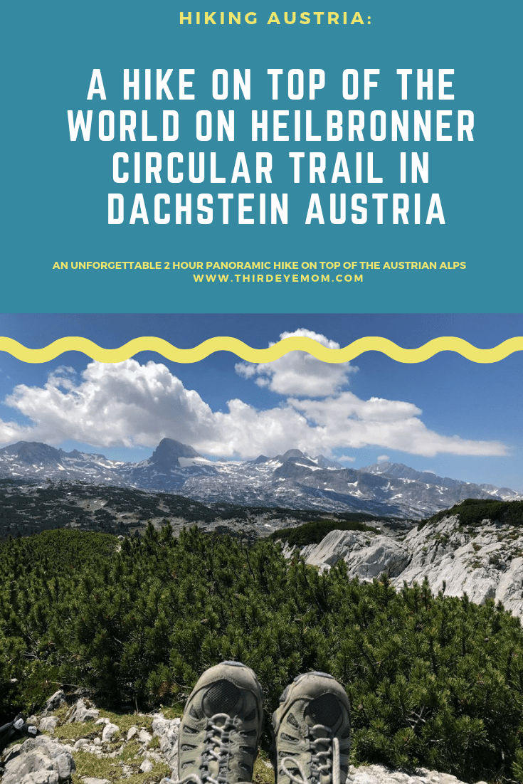 A Hike On Top of the World on Heilbronner Circular Trail in Dachstein Austria-2