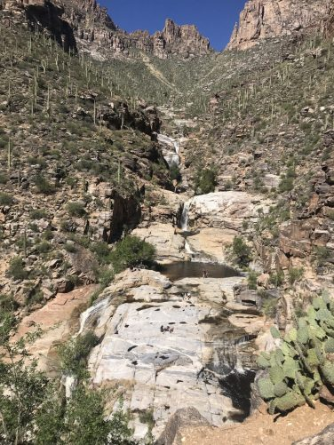Bear Canyon hike to Seven Falls, Tucson, Arizona