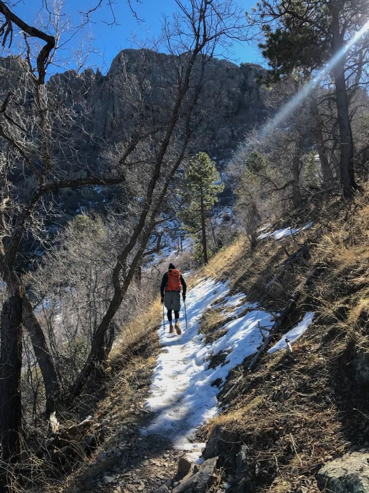 Views along the way go Old Baldy Trailhead, Mount Wrightson, Tucson, Arizona 4