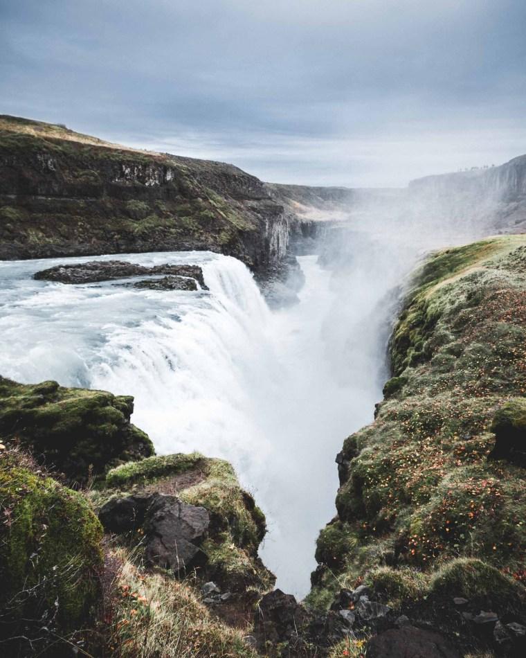 Gullfoss Summer. Hidden Iceland.