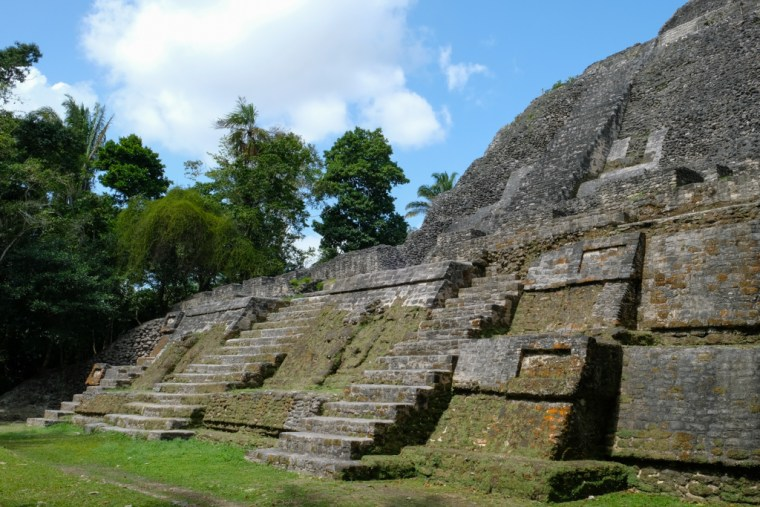 High Temple Lamanai Belize