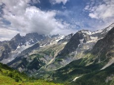 Hiking in Val Ferret, Courmayeur Italy