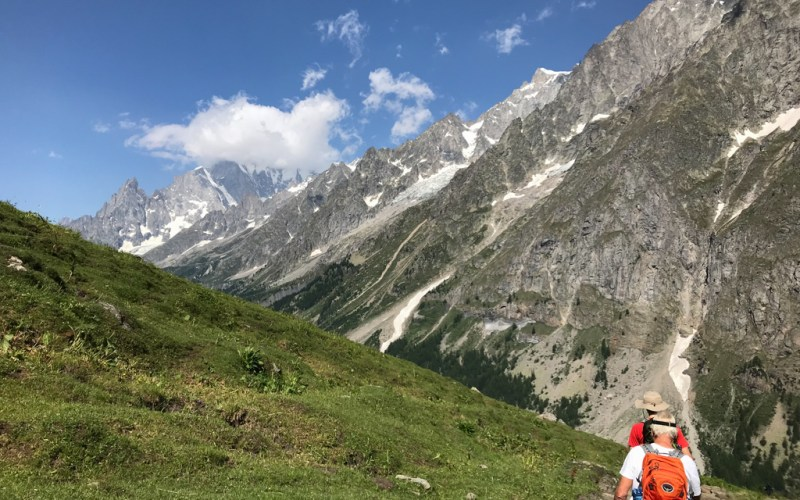 Hiking in Aosta Valley, Italy